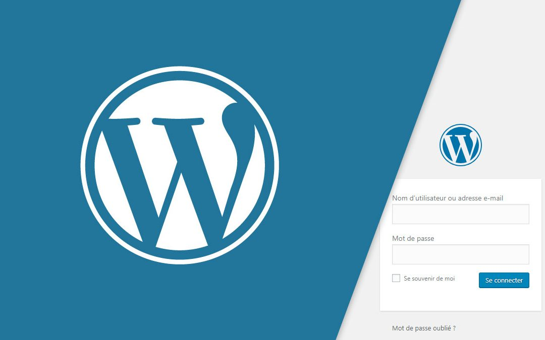 Comment se connecter à son compte WordPress